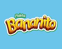 Paleta Bananito de Crem Helado