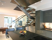 Abingdon Bespoke Staircase for Contemporary London Home