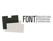 FONT ARQUITECTURA INTERIORISMO E INTERACCIÓN