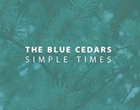 "The Blue Cedars – ""Simple Times"" Album Artwork"