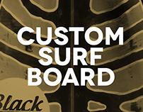 CUSTOM SURFBOARD Surfer's Den Parma Collabo