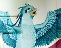 Oda a la Esperanza - Mural