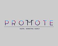 Promote - Digital Marketing Agency - 9 logo variations
