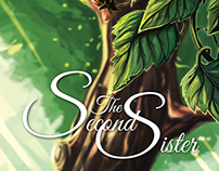 The Second Sister Cover Design & Illustration