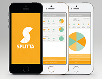 Splitta App design