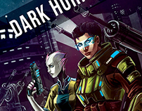 Dark Horizons - Book Cover Design