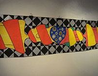 Sticker exhibition at kArton Gallery | Hungary | June
