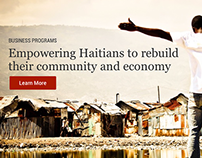 Servants For Haiti Website