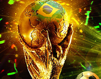 My FIFA World Cup Facebook cover