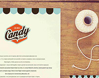 "logo for ""Candy bar"""