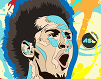 Lionel Messi - Illustration