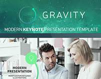 GRAVITY Keynote Presentation Template