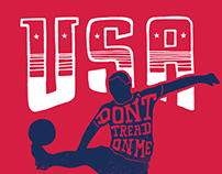 World Cup 2014: Don't Tread On Me