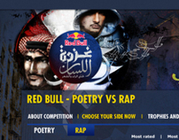 Poets Vs Rappers - Red Bull Online Activation