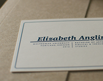Graduation Announcements: Elizabeth & Connor