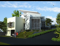 Proposed Residential & Commercial Buildings -3D Images