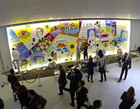 Graffiti Wall - Mobile World Congress 2014
