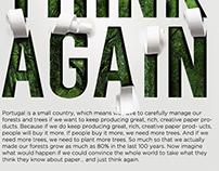 Paper brand advertising