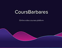 CoursBarbares - Online teaching platform