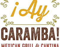 Logo Concepts 1 - Ay Caramba Mexican Grill & Cantina