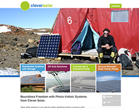 Clever Solar Web Design