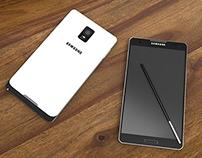 Samsung Galaxy Note 4 Concept