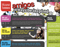Always Be Inspired, Amigos Mobile Apps -Tunisiana telco