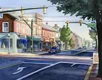 Main Street, Kutztown PA