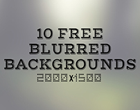 Blurred Backgrounds (Free Download)