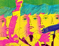 """Fleurs des Lettres"" cover & illustration / Jul 2016"