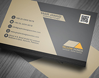 Real Estate Business Card PSD Template (Freebie)