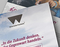Invitation for a Wanderhotels-best alpine's convention