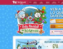 Template Navidad KidZania