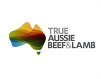 True Aussie Beef & Lamb Logo Resolve