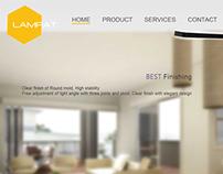 Lampat WordPress Website