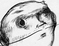 Gouache ink / MotherMnkey Illustration