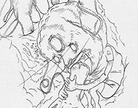 Stroke / MotherMonkey illustration