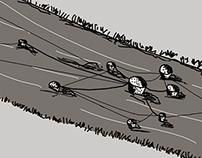 Samfunds litteratur illustration