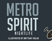 MetroSpirit Nightlife Map