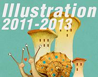 Illustrations 2011- 2013