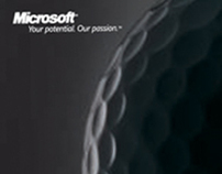 Microsoft partner invitation for golf tournament