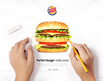 Perfect campaign / Burger King Idea