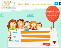 Nestle Healthy Kids Website