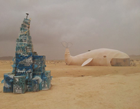 Whale - Midburn 2014 - Burning Man Israel