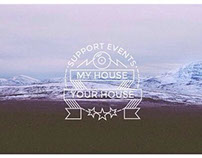 MY HOUSE   YOUR HOUSE