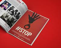 Material promocional #STOP