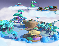 ENVIRONMENT DESIGN FOR ANIMATED SERIE