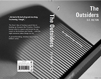 The Outsiders Puffin book cover re-design