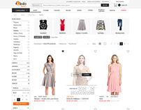 Linio Fashion site revamp