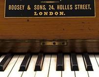 Horniman Museum - Keyboards